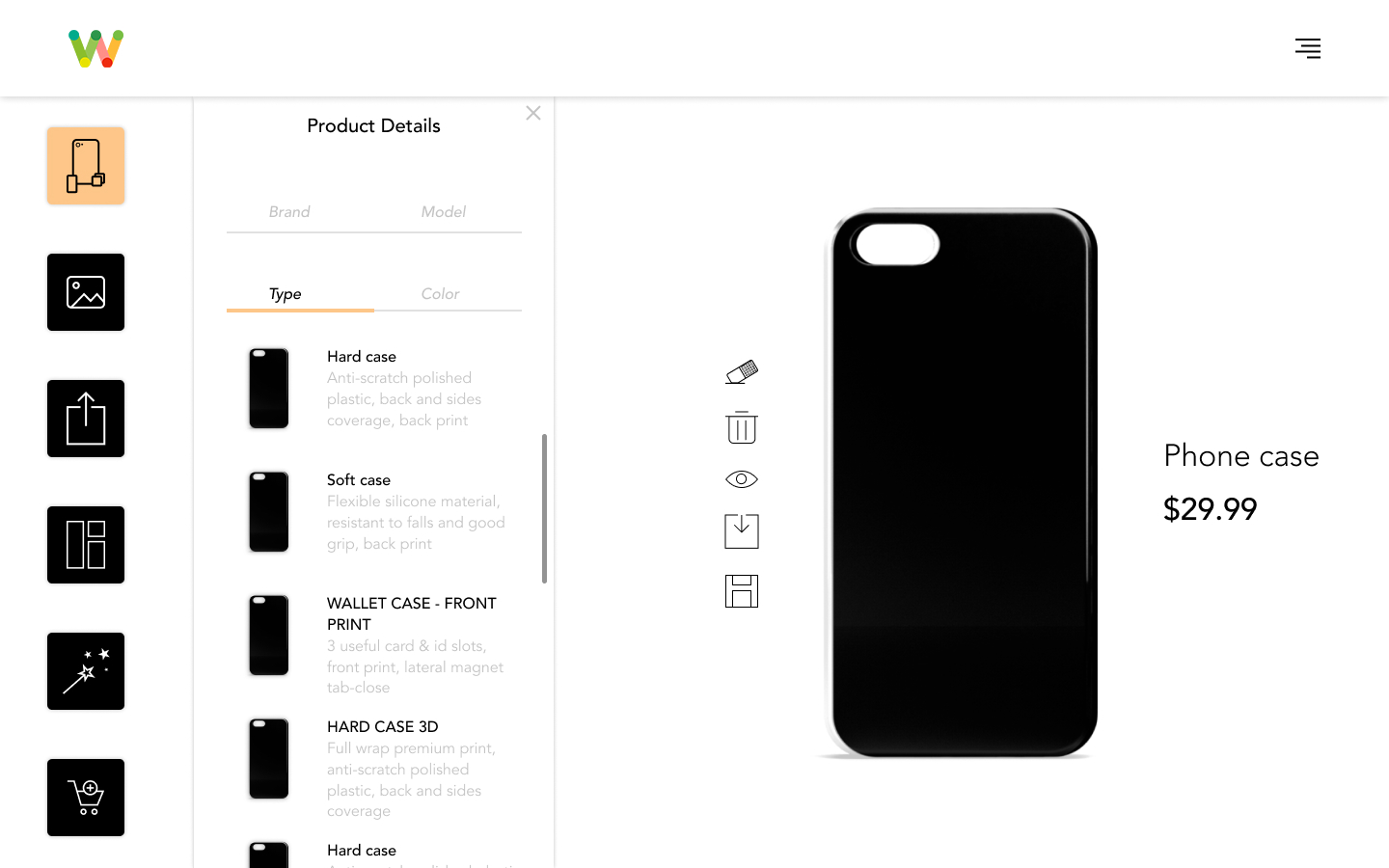 Kandi – WooCommerce Custom Phone Case Designer