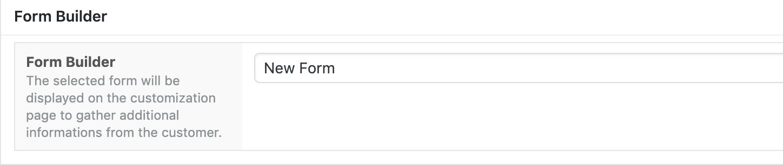 WPD Form Selector